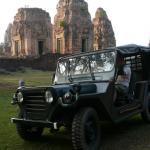 Exploring Bayon Temple, Angkor Temples, Siem Reap