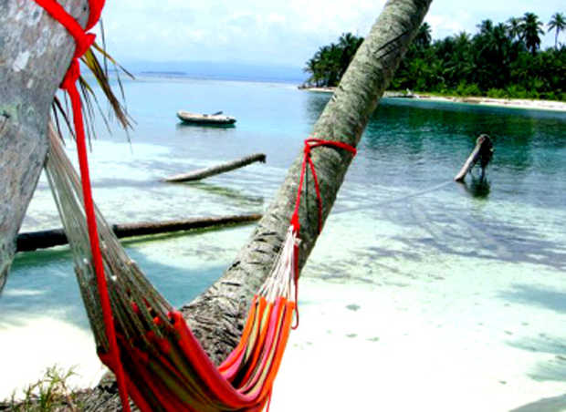 Relax in a hammock on the islands.