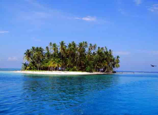 Tropical paradises.
