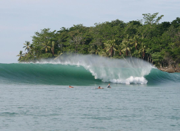 Surfing Puerto Viejo