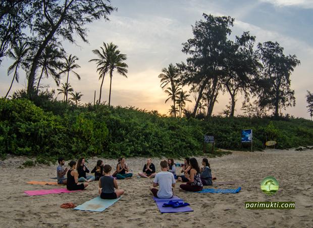 parimukti yoga teacher Training