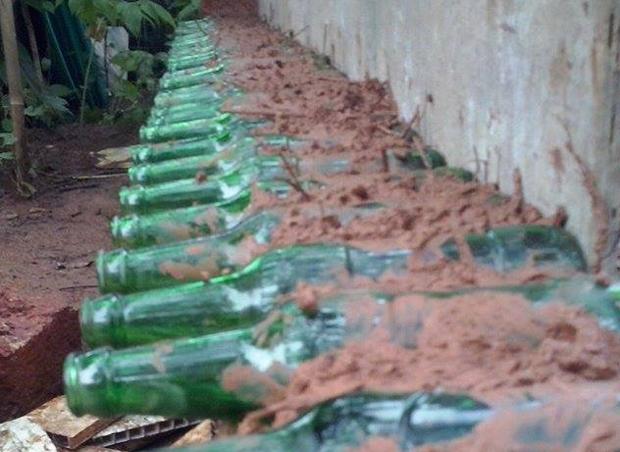 Bottles walls