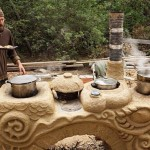 Clay cob Kitchen